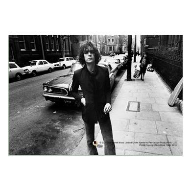 Syd Barrett Batmobile Glass Print