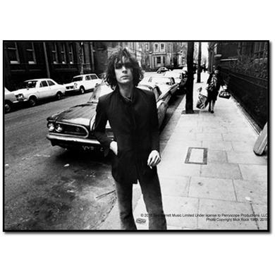 Syd Barrett Batmobile Wood Print