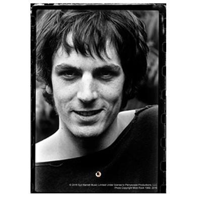 Syd Barrett Devilish Grin Glass Print