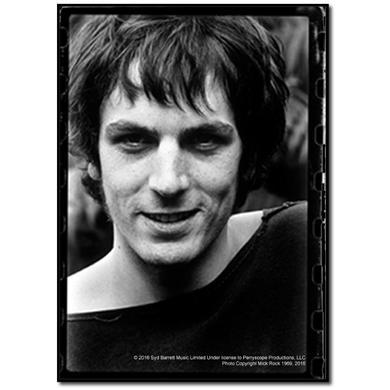 Syd Barrett Devilish Grin Wood Print