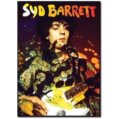 Syd Barrett Paisley Plays Wood Print