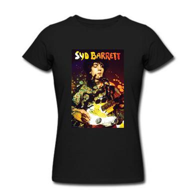 Syd Barrett Women's Paisley Plays T-Shirt