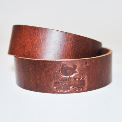 Woodstock Leather Bracelet