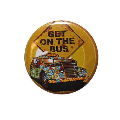 Woodstock Bus Button