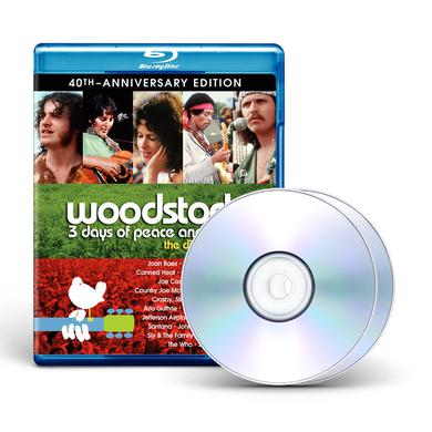 Woodstock Woodstock:  3 Days Of Peace & Music 40th Anniversary Edition - Director's Cut Blu-Ray