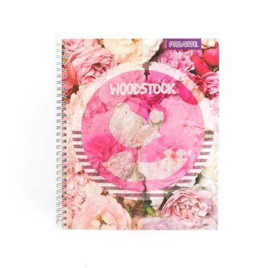 Woodstock Birds/Flowers Glitter Logo Mini Notebook