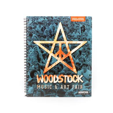 Woodstock Music and Arts Fair Star Notebook