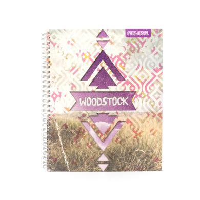 Woodstock Purple Diamond Logo Cover Notebook