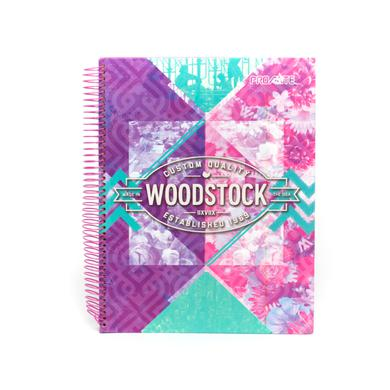 Custom Quality Woodstock Cover Notebook