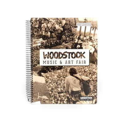 Woodstock Music and Arts Fair Photos Cover Notebook