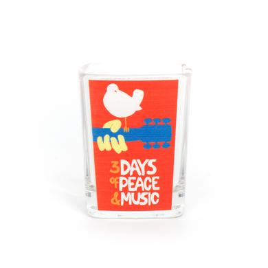 Woodstock 3 Days Of . . . Square Shotglass