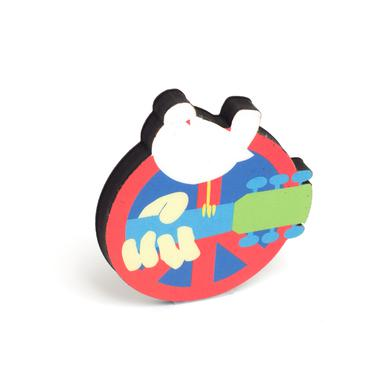 Woodstock Peace-Neck Magnet