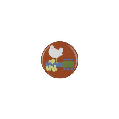 Woodstock Classic Bird Button