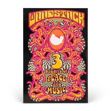 Woodstock 3 Nights Sticker