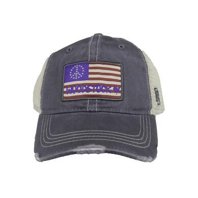 Woodstock American Flag Baseball Cap