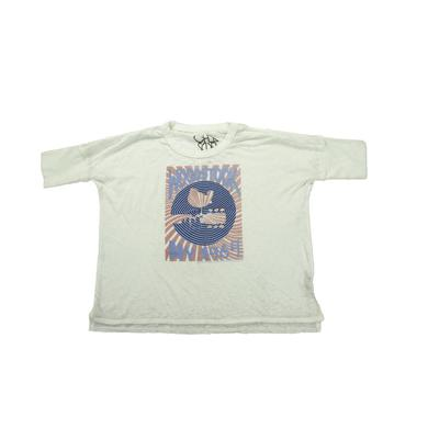 Woodstock NY '69 Rising Sun Cropped T-Shirt
