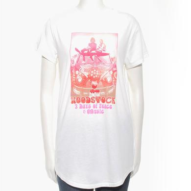 Woodstock Women's Hippie Van T-Shirt