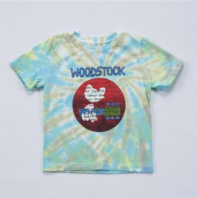 Woodstock Tie Dye Country String Toddlers T-Shirt