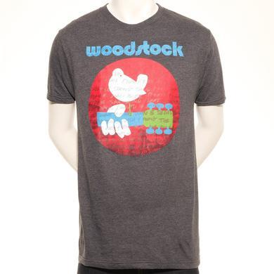 Woodstock Worded Dove Logo T-Shirt