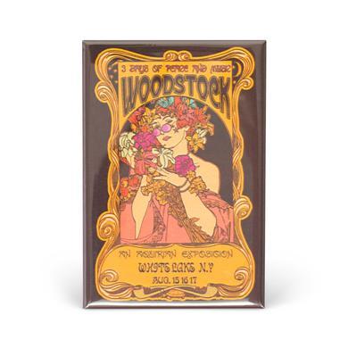 Woodstock Nouveau Magnet