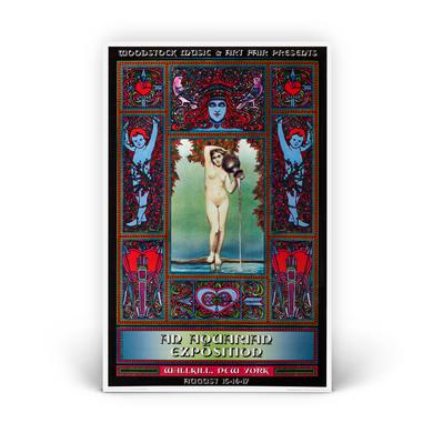 Woodstock Garden Nymphs Exposition Poster