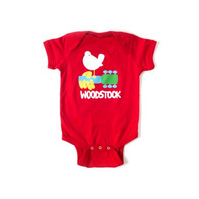 Woodstock Red Onesie