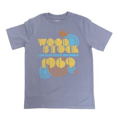Woodstock Kids 69 Spirals T-Shirt