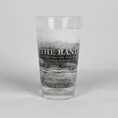 The Band Mountain Range Pint Glass