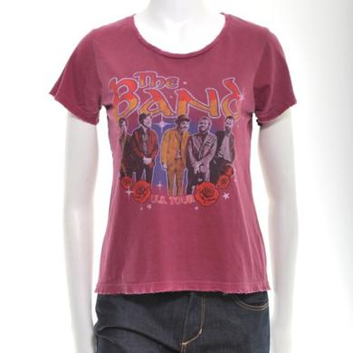 The Band WOMEN'S ROSE & STAR TOUR T-SHIRT