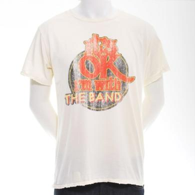 WHITE I'M WITH THE BAND T-SHIRT