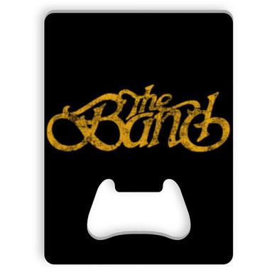 The Band Distressed Logo Bottle Opener
