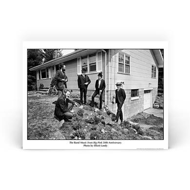 """Elliott Landy Litho"" : The Band at Big Pink"