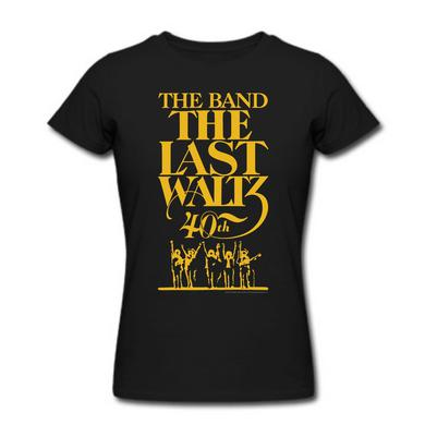 The Band Women's The Last Waltz 40th Anniversary T-Shirt