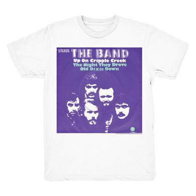 The Band Up On Cripple Creek 2-Sided Lyrics T-Shirt