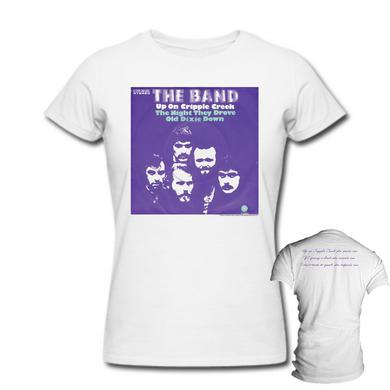 The Band Women's Up On Cripple Creek 2-Sided Lyrics T-Shirt