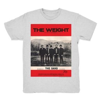 The Band The Weight 2-Sided Lyric T-Shirt