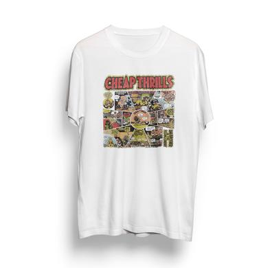 Big Brother & The Holding Company Natural Cheap Thrills Cartoon T-Shirt