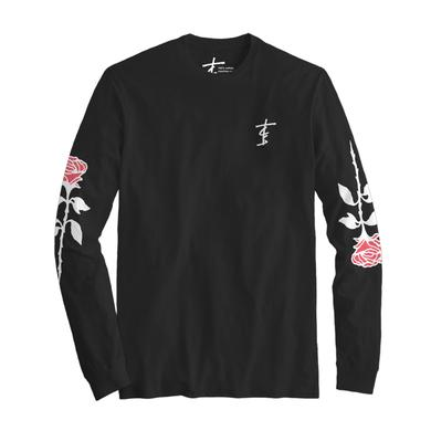 The Chainsmokers Roses Long Sleeve Tee - Black