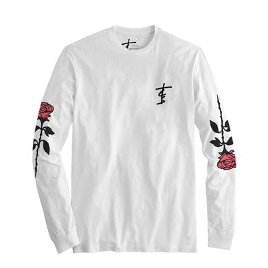 The Chainsmokers Roses Long Sleeve Tee - White