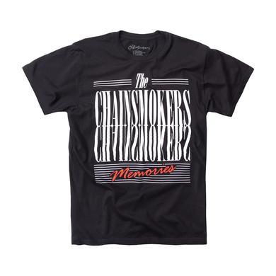 The Chainsmokers Memories Tee - Black