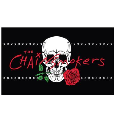 The Chainsmokers Skull Flag