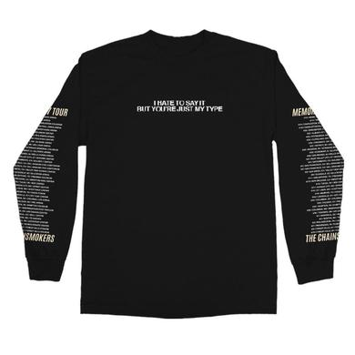 The Chainsmokers Memories Tour Long Sleeve Tee