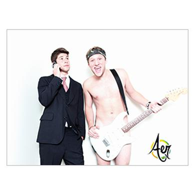 Fresh Aer Movement Guitar Poster