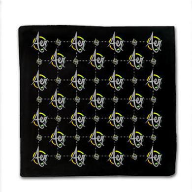 Fresh Aer Movement Aer Logo Bandana (Black)