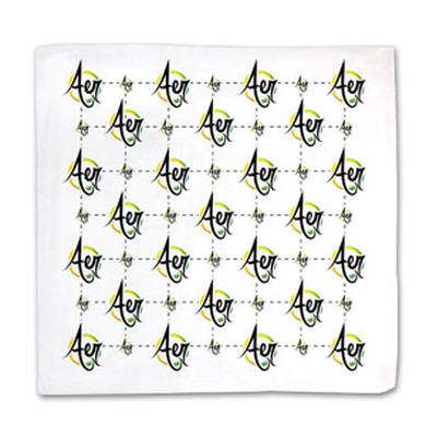 Fresh Aer Movement Aer Logo Bandana (White)