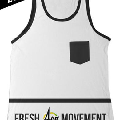 Fresh Aer Movement Custom Pocket Tank (White)