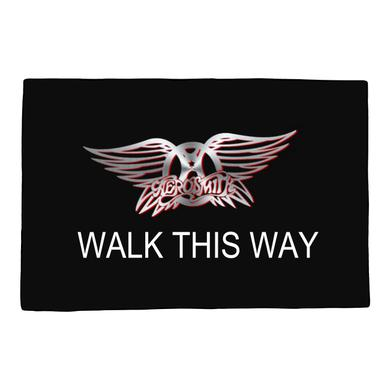Aerosmith Walk This Way Door Mat