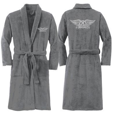 Aerosmith Bling Wings Logo Plush robe