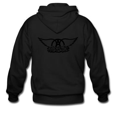 Aerosmith Black on Black (Zip Hoodie)