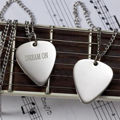 Aerosmith Dream On Guitar Pick Necklace